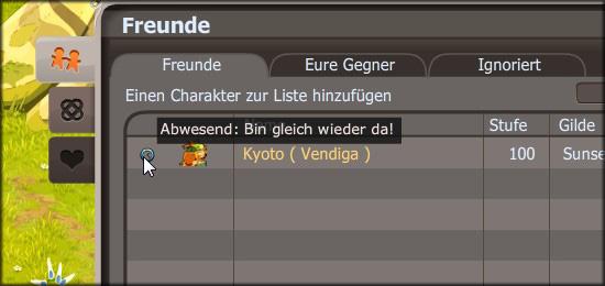 Devblog DE Statuseinstellungen