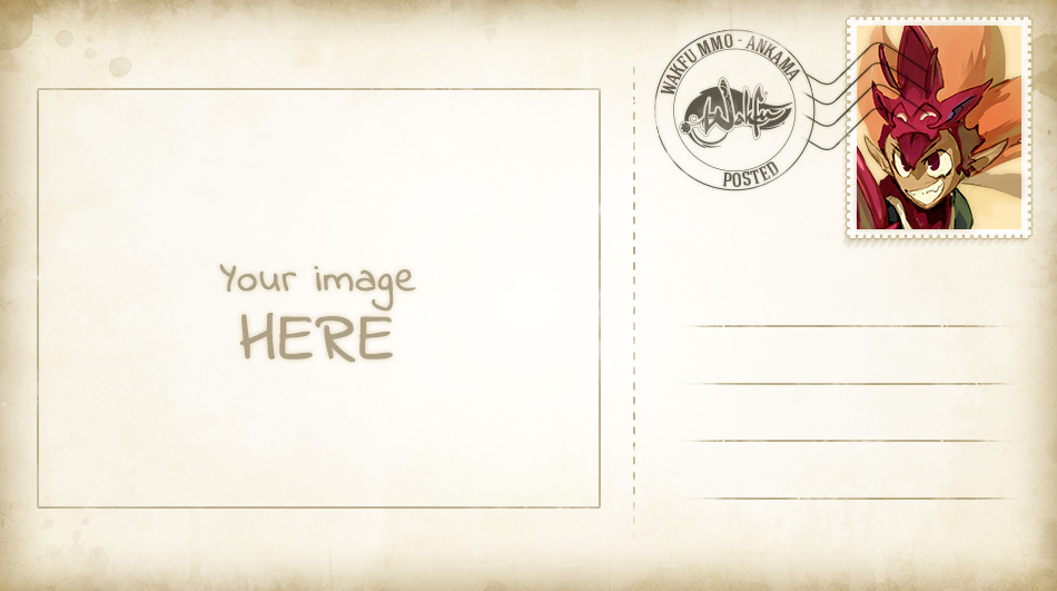 Event Clan Members Day Postcard Event News WAKFU The - Make your own postcard template